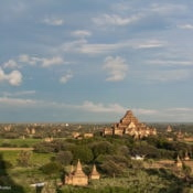 Bagan e l'immensa distesa di pagode
