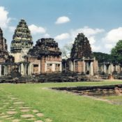 Thailandia nord orientale, sito archeologico Khmer di Phimai, Isaan.