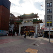 Boston, ingresso di Chinatown.