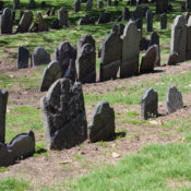 Granary Burying Ground in Boston