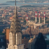 Vedute dall'Empire State Building in New York